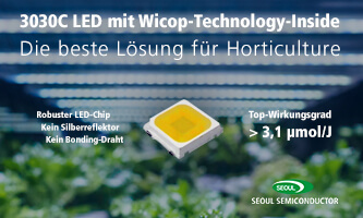 LED 3030C for efficient LED plant lighting
