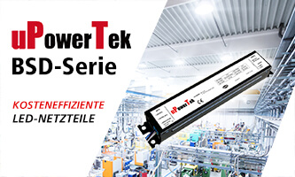 BSD Series: Cost-efficient LED power supplies from uPowerTek