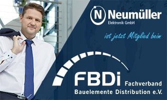 Neumüller Elektronik joins FBDi Association