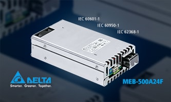 When size matters! Small and robust power supply for medical technology and IT