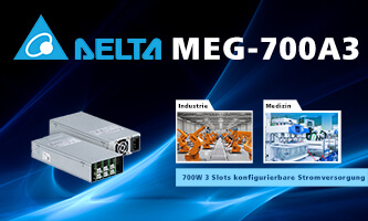 MEG-700A3: Addition to the family of configurable power supplies