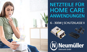 Power supplies for home care applications