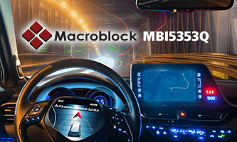 Macroblock launches LED driver IC for automotive