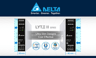 Ultra-compact DIN rail power supplies - cost reduced and energy saving