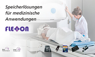 Memory and storage solutions for medical applications from Flexxon