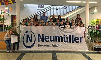Neumüller Elektronik adopts Class 2000 sponsorship for Weisendorf primary school