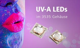3535 UV-A LEDs from Lextar Electronics