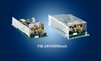 New 300W and 600W peak power supply complements the PJB-24V series