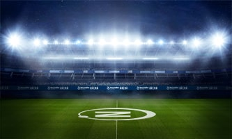 Perfect stadium lighting with the new LED optics from LEDiL