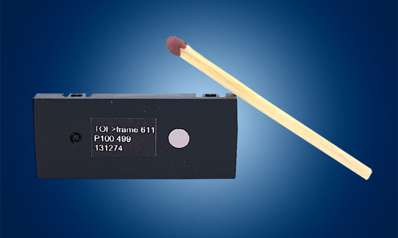 Miniature ToF imager TOF frame 611 with improved performance