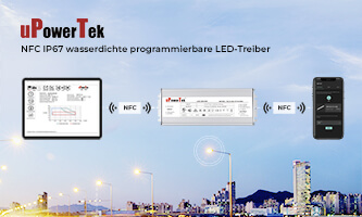 LED driver contactless programming - uPowerTek and NFC make it possible