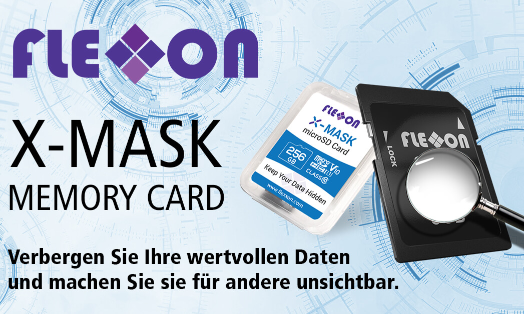Flexxon X-MASK memory card