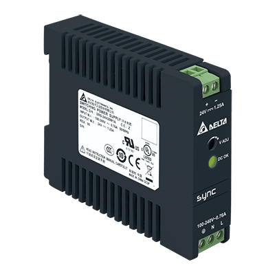 DRS-24V30W1AZ: – Ultra compact size – Universal AC input voltage and full power up to 55°C – High Efficiency 88.0% typ. @ 230Vac – NEC Class 2 / Limited Power Source (LPS) certified – Overvoltage / Overcurrent / Over Temperature Protections – Meet Surge Immunity IEC 61000-4-5, Level 4 (CM: 4kV, DM: 2kV) von Delta Electronics
